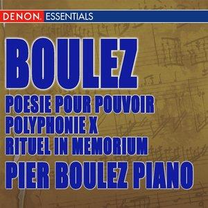 Image for 'Structures pour deux pianos: Livre II, Movement I'