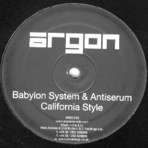 Image pour 'Babylon System & Antiserum'