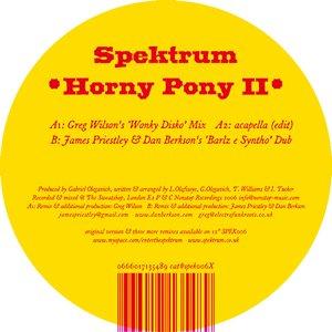Immagine per 'Horny Pony (Greg Wilson's 'Wonky Disko' Mix)'