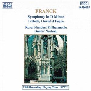 Image pour 'FRANCK: Symphony in D Minor / Prelude, Choral et  Fugue'