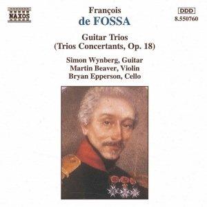Image for 'FOSSA: Guitar Trios, Op. 18'