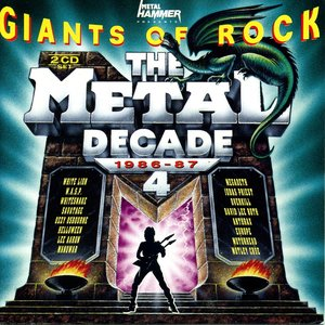 Image pour 'Giants of Rock: The Metal Decade, Volume 4: 1986-87'