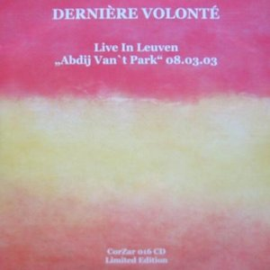 Image for 'Live in Leuven'