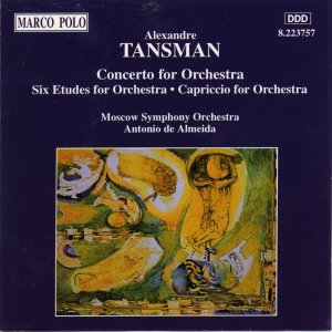 Image pour 'TANSMAN: Concerto for Orchestra / Etudes for Orchestra'