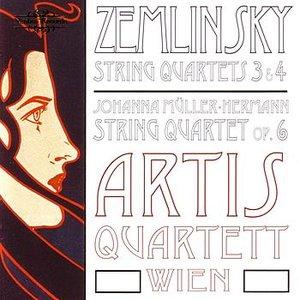 Image for 'Zemlinsky: String Quartets 3 & 4 / Müller-Hermann: String Quartet'