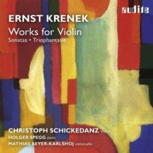 Imagen de 'Ernst Krenek: Works for Violin (Sonata for Solo Violin No. 1 & No. 2, Sonata No. 2 for Violin and Piano & Triophantasie)'