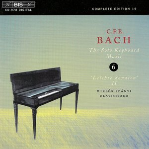 Image for 'Bach, C.P.E.: Keyboard Music, Vol.  6'