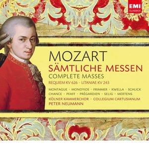 Image for 'Mozart: Sämtliche Messen / Complete Masses'