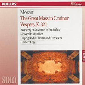 Image for 'Mozart: The Great Mass in C Minor; Vesper K.321'