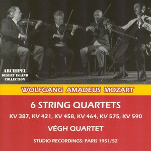 Image for 'Wolfgang Amadeus Mozart : 6 String Quartets'