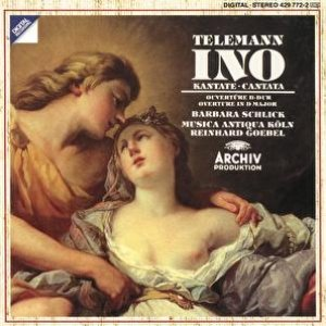 "Image for 'Telemann: ""Ino""-Cantata; Overture in D major'"