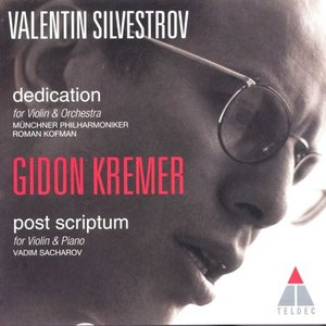 Image for 'Silvestrov : Dedication & Post Scriptum'