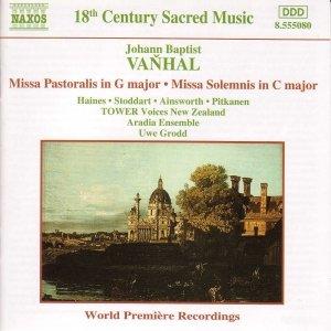 Image for 'VANHAL: Missa Pastoralis / Missa Solemnis'
