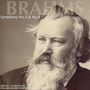 Image for 'Brahms: Symphony No. 3 & Symphony No. 4'