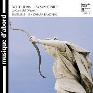 Image pour 'Luigi Boccherini: Symphonies'