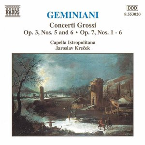 Image for 'GEMINIANI: Concerti Grossi, Vol.  2'