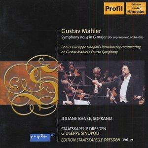 Bild för 'Mahler, G.: Symphony No. 4 (Edition Staatskapelle Dresden, Vol. 21)'