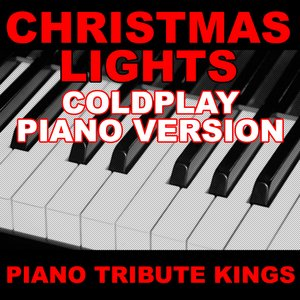 Image for 'Christmas Lights (Coldplay Piano Version)'