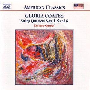 Image for 'Gloria Coates: String Quartets Nos. 1, 5 And 6'