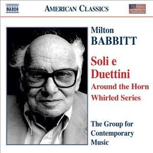 Immagine per 'BABBITT: Soli e Duettini'