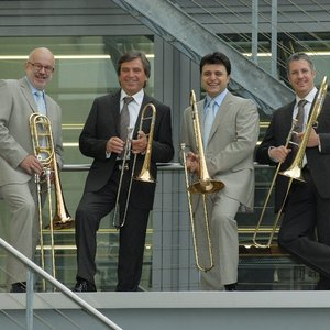 Image for 'The Slokar Trombones, Silvano Bazan, Jörg Ewald Dähler, Ira Kriss, Rolf Aberer & Billy Brooks'