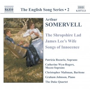 Image for 'SOMERVELL: The Shropshire Lad / James Lee's Wife / Songs of Innocence'