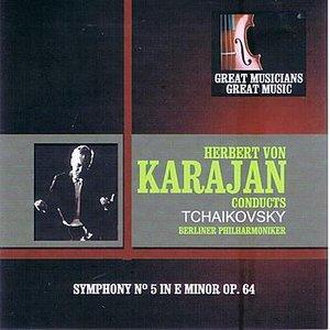 Image pour 'Great Musicians, Great Music: Herbert von Karajan Performs Tchaikovsky'