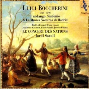 Image for 'Luigi Boccherini: Fandango, Sinfonie & La Musica Notturna Di Madrid'