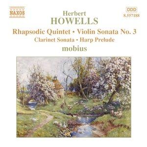 Image for 'Howells: Rhapsodic Quintet / Violin Sonata No. 3'