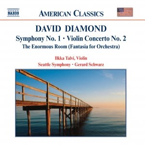 Image for 'DIAMOND: Symphony No. 1 / Violin Concerto No. 2 / Enormous Room'