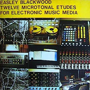 Image for 'Twelve Microtonal Etudes For Electronic Music Media'