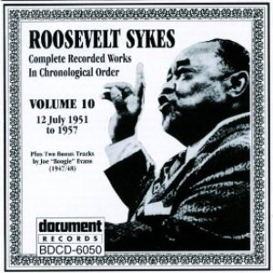 Image for 'Roosevelt Sykes Vol. 10 (1951-1957)'
