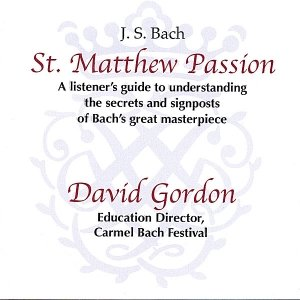 Immagine per 'Bach's St. Matthew Passion - a listener's introduction'