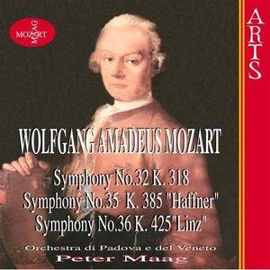 """Image for 'W.A. Mozart: Symphonies Nos. 32, 35 """"Haffner"""" & 36 """"Linz""""'"""