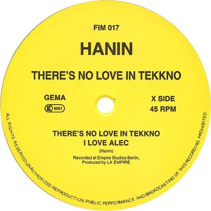 Image for 'There's No Love in Tekkno'