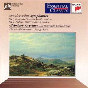 Image for 'Symphonies Nos. 3, 4 / The Hebrides Overture'
