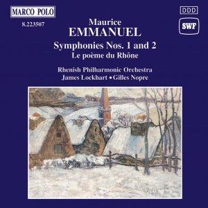 Image for 'EMMANUEL: Symphonies Nos. 1 and 2'