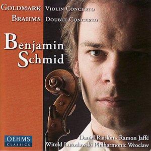 Image for 'Goldmark: Violin Concerto No. 1 & Brahms: Double Concerto for Violin and Cello'