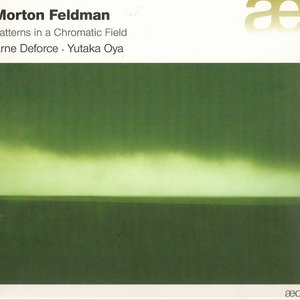 Image for 'Feldman: Patterns In a Chromatic Field'