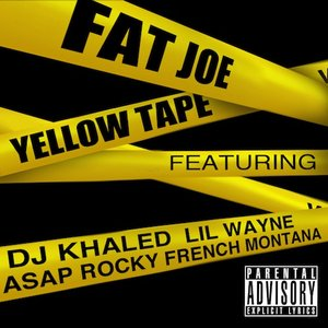 Image for 'Yellow Tape (feat. Lil Wayne, A$AP Rocky & French Montana) - Single'