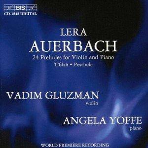Imagem de 'Auerbach: Twenty Four Preludes for Violin and Piano'
