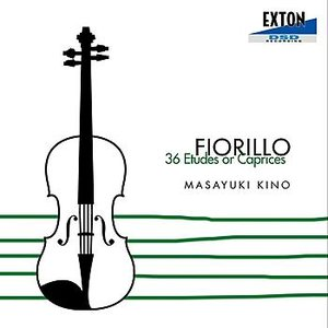 Image for 'FIORILLO: 36 ETUDES OR CAPRICES'