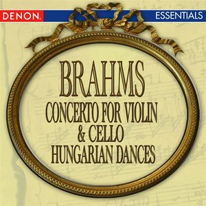 Image for 'Brahms: Concerto for Violin & Cello - Hungarian Dance Nos. 4 & 5'