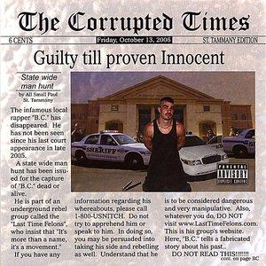 Imagen de 'Guilty till proven Innocent'