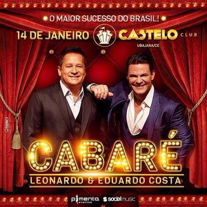 Image for 'Leonardo e Eduardo Costa no Cabaré (Ao Vivo)'