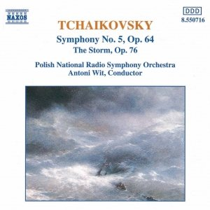 Image for 'TCHAIKOVSKY: Symphony No. 5 / The Storm'