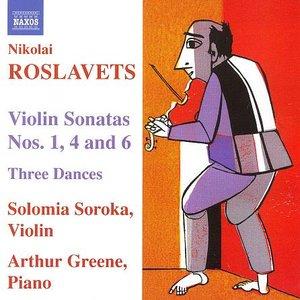 Image for 'Violin Sonatas Nos. 1, 4, 6 / Three Dances (feat. violin: Solomia Soroka, piano: Arthur Greene)'