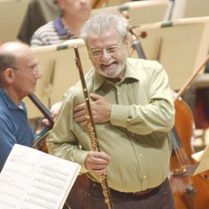 Image for 'James Galway; London Oratory School Scholars; London Philharmonic Orchestra; London Voices'