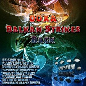 Album cover for Balkan Strikes Back