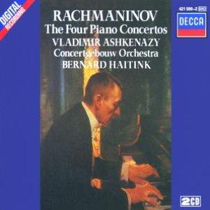 Bild för 'Rachmaninov: Piano Concertos Nos. 1-4'